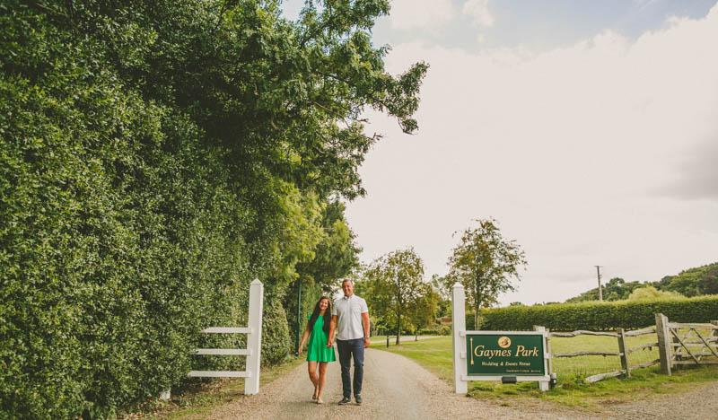 Gaynes Park Photography Kate & Lee's Engagement Session