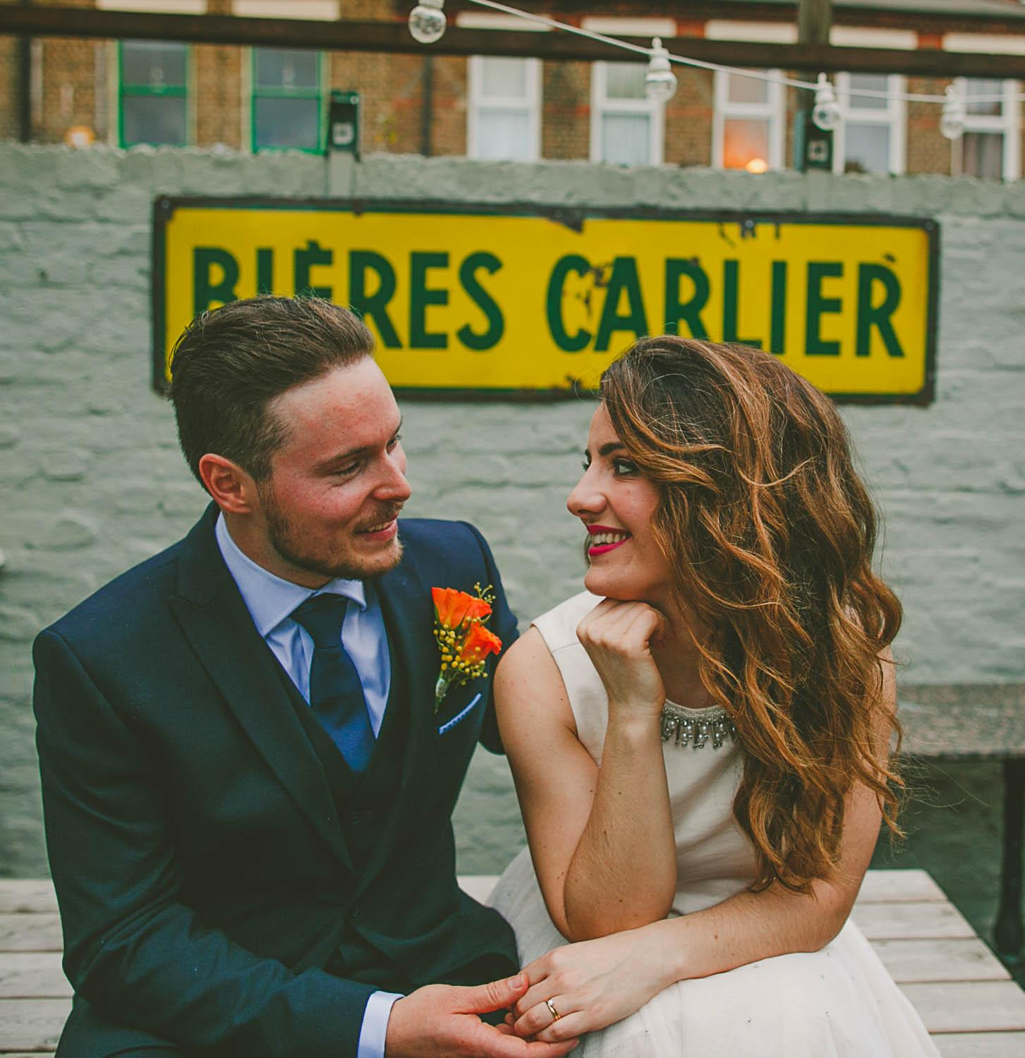 London Pub Wedding Photography