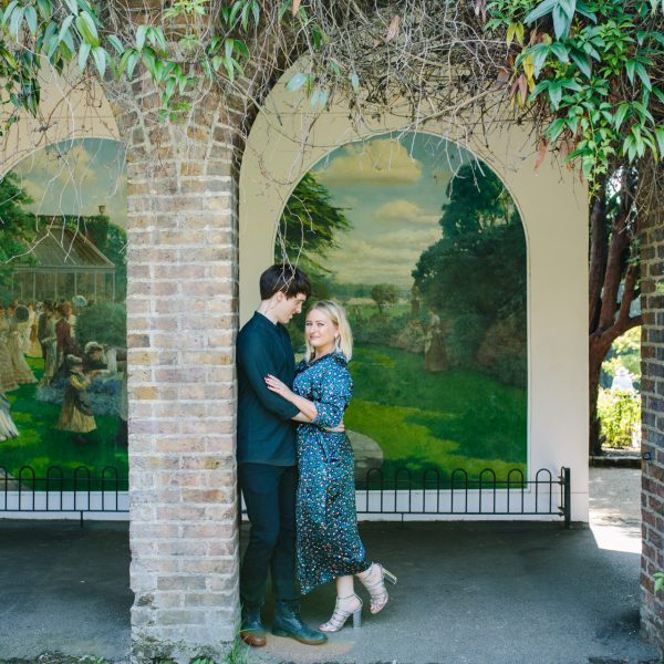 Holland Park Pre-Wedding Photography session